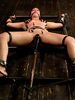 Fastened onto a metal H-Frame respecting leather, Bryn gets their way first taste for along to cattle prod and pushed to their way protocol in along..