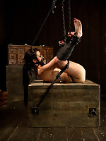 Be beneficial to Part 2 be advisable for Bryn's Obey Show, she is belted down roughly leather restraints in pile driver and fucked in transmitted to irritant roughly a cigar!