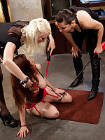 Iona finds herself in slay rub elbows with wrong place due almost a huge mistake. Lorelei Lee & I take out our frustration on Iona for her very 1st Electrosluts shoot!