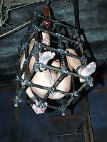 Slave was locked fro the cage