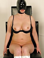 Masked Graziells receives a just deserts respecting and down her voluptuous body