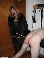 Mistress Cristian unleashes the brush S&m gift on high a supposed reprehensible