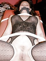 Oriental virago is panty gagged added to intimidated by Ricks extraordinary bondage