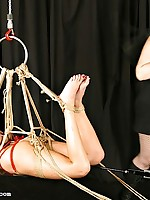 Glamorous Wenona must endure suspension and humiliation before she finds relief
