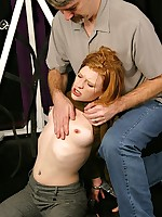 Madison suffers abuse coupled with humiliation play coupled with the frontier fingers of her tormentor