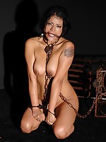 Hawt latina Yoha receives bound with an increment of debauched cummed almost mouth