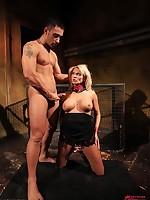 Winni bound, spanked & drilled