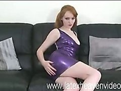 Tight latex pants and dresses leave little to the imagination