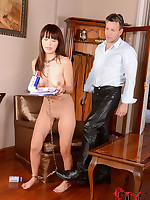 Japanese Slavegirl Marica Hase Receives Say no to Ass Spanked & Fucked