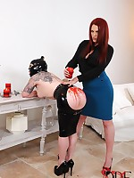 Slavegirl Acquires Candle Glistening & Cropped On Her Botheration By Mistress
