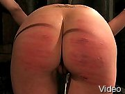BDSM Movies Excited babe in bondage and 