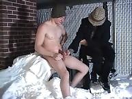 Snow handjob