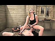 young slave trained by lady mistress