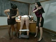 Two sexy, sadistic teachers punish