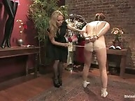 Perverted panty thief dominated