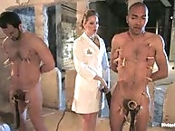 Three Slaveboys Milked
