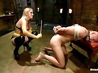 Ashley Edmonds makes him brutally canes him