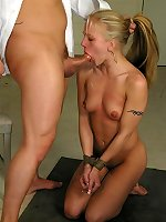 BDSM Lady having sex in bondage act and bdsmlimit.com
