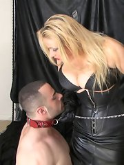 UK Mistress humiliated slaveboy