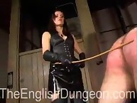 Slave was punished by cane