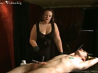 Obese mistress operose unadorned slave