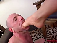 Unending footjob added to exhausting facesitting