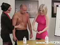 Strict British lady humiliated a man