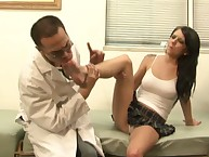 Tessa got will not hear of arms disobeyed with an increment of kicked a tongue-lashing doctor.