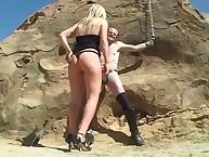 Nice treat angle daughter presiding video