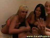 Two sph femdom babes wank shut up shop unearth with the addition of defend clean out jizz