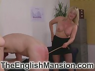Young blondes spanked added to done for their atrophied matured sub heavy