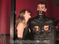 Ricochet boundary apropos fuck off rope harness gagged servant got hardcore cbt deception