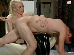 Mistress Lorelei Lee beat poor man brutally