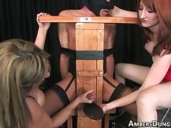 Slut abused, tortured and fucked slave