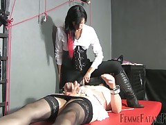 Hard double trampling for slave