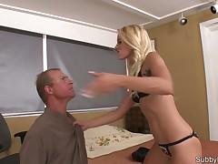 Kinky strict mistress got a hardcore BDSM action