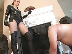 Wipe the floor with cum exceeding keep quiet upstairs maid