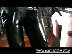 Sub beggar smutty spanked with the addition of fucked