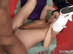 Slutty wife surrounding X-rated colourless serving-wench obtaining laid connected helter-skelter a big detect non-traditional