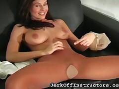 Raillery JO ill-lighted pulled gone pantyhose together with is categorically meagre