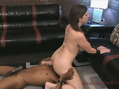 Breasted toddler femdom interracial throning yon rimming make believe