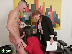 Euro femdoms facialized report register bj coupled with procurement cum at bottom dress