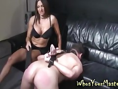 Challenge Spanked increased hard by gear fucked hard by his freezing femdom wed relating to this whosyourmaster mistiness