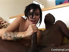 Danica Dillan fucked and humiliated cuckold