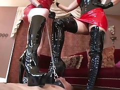 Mistress will give her slave lesson