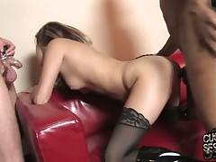 Rough training of slave by sexy Trisha Rae