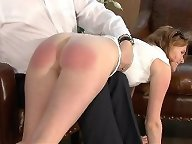 Pretty wife gets otk spanked