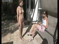 Mistress humiliating slavegirl