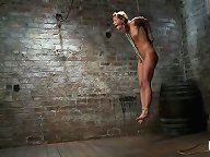 Ariel X and her ripped body, get punished for a full hour of non stop rope bondage all ties on screen, Isis Love co-topping. Category 5 suspension!