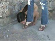 Lezdom footworship